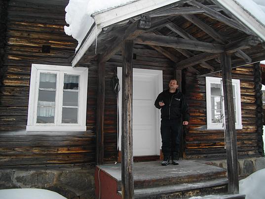 Gammel stue i Hedalen